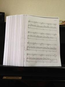 ピアノ発表会楽譜
