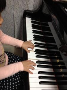 Sちゃんのピアノレッスン