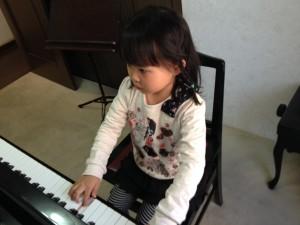 Hちゃんのピアノレッスン