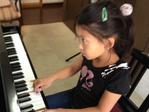 kちゃんのピアノレッスン」
