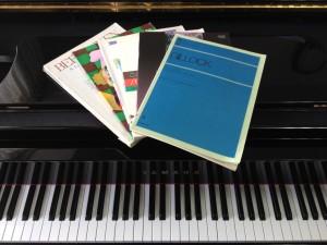 上田ピアノ教室・ピアノ楽譜