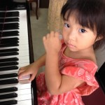 Aちゃんのピアノレッスン